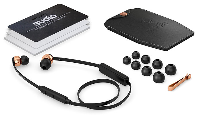 Sudio wireless bluetooth earphones