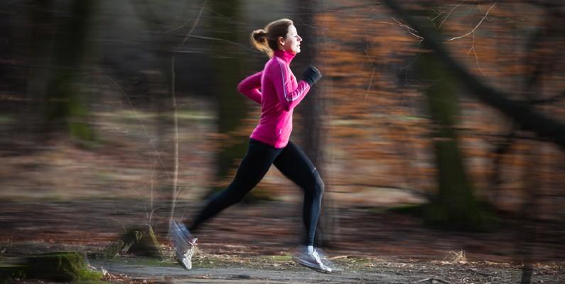 träna löpning